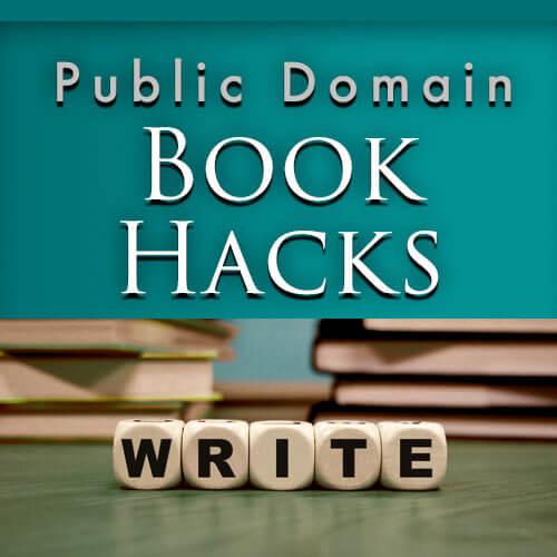 Public Domain Book Hacks